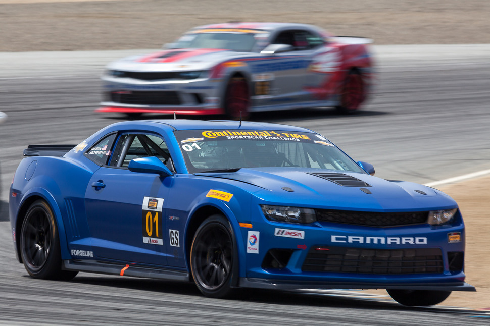 Curran takes Camaro to pole at the 'Glen