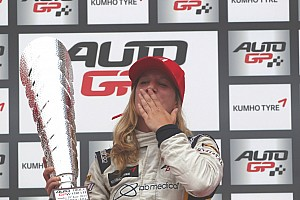 Auto GP Race report Michela Cerruti scores historic win at Imola