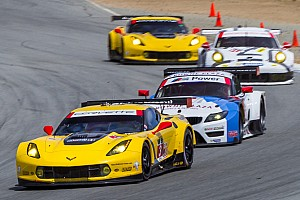 Six teams separated by three points in GTLM