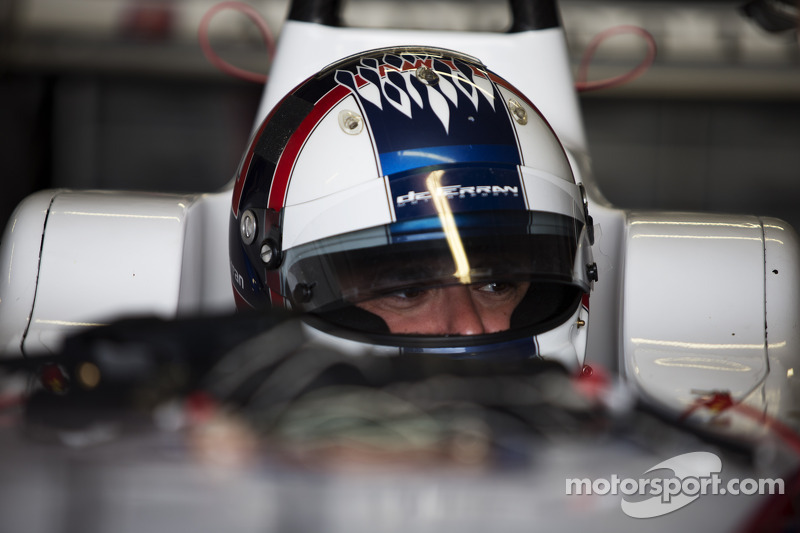The Andretti Formula E team took to the track at Donington Park