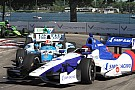 Pagenaud and Aleshin bring road course aggression to Iowa bullring