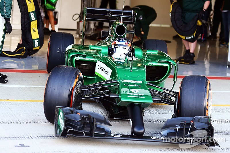 Sainz jr confirms Caterham talks
