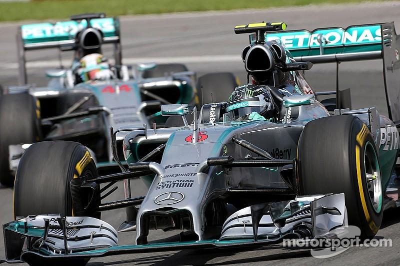 Mercedes won't 'interfere' with title battle - Lauda