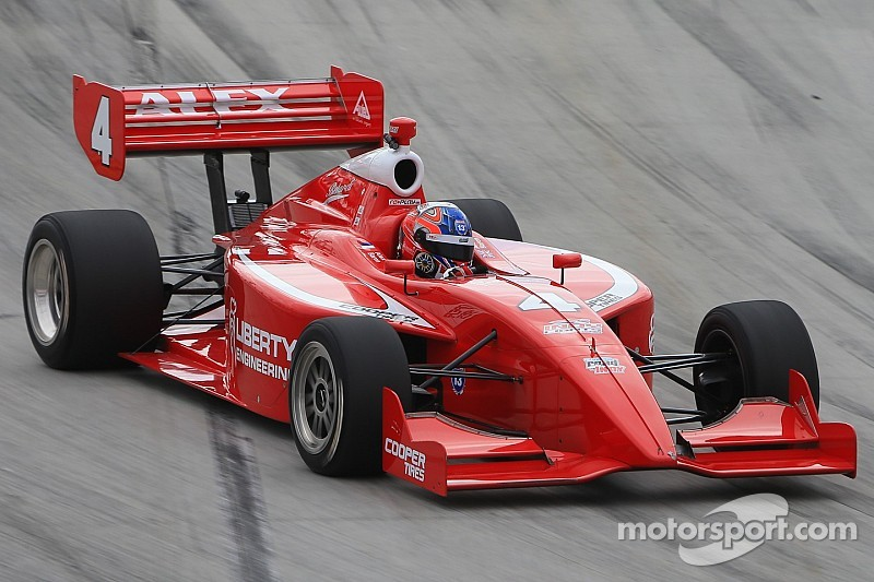 Baron shows pace and maturity in Toronto to claim his first Indy Lights win