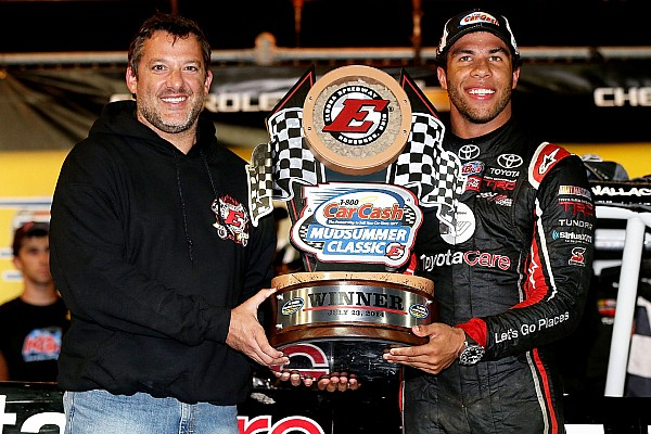 Darrell Wallace Jr. wins the MudSummer Classic at Eldora