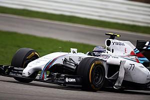 Williams Martini prepares for Hungaroring challenge.