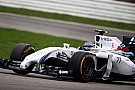 Williams Martini prepares for Hungaroring challenge.