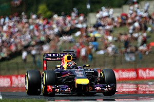 Formula 1 Qualifying report Red Bull will line up second and fourth on tomorrow's Hungarian GP
