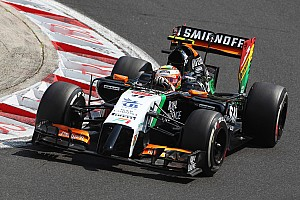 Formula 1 Qualifying report Hulkenberg end the qualifying session in ninth place with Sergio Perez in P13