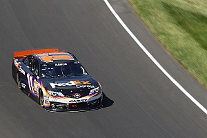 NASCAR Sprint Cup Breaking news NASCAR slams Denny Hamlin and No. 11 JGR team with big penalties