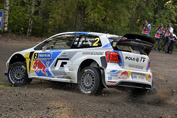 Latvala leads early in Finland