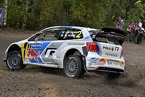 WRC Leg report Latvala leads early in Finland