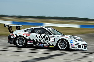 Michael Lewis goes flag to flag in Porsche GT3 Cup at Road America