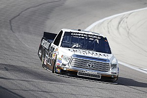NASCAR Truck Race report Sauter delivers win at Michigan for new crew chief