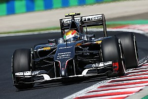 Sauber F1 Team returns to the race track in Spa-Francorchamps
