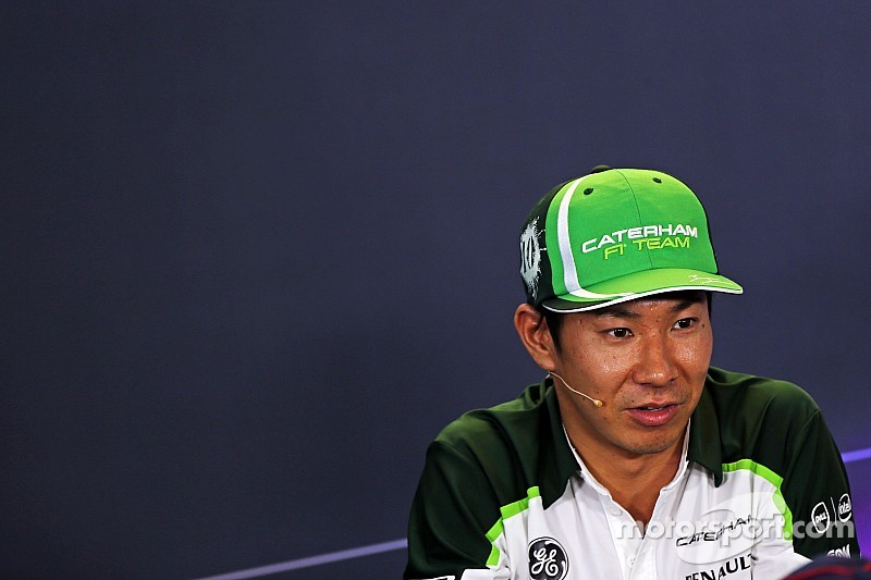 Kobayashi using Spa sideline to ponder F1 'harmony'