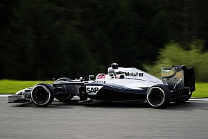 A satisfactory first day at Spa for the McLaren team