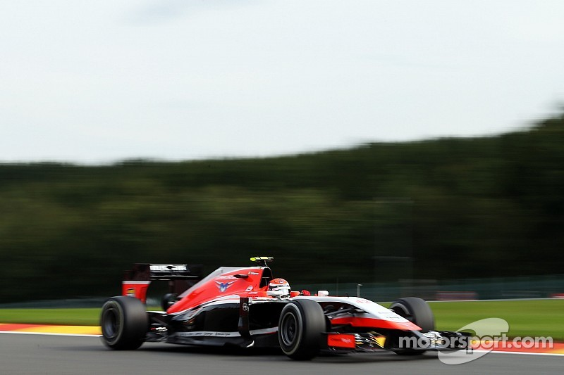 Alexander Rossi has eventful debut in Spa for Marussia F1 Team