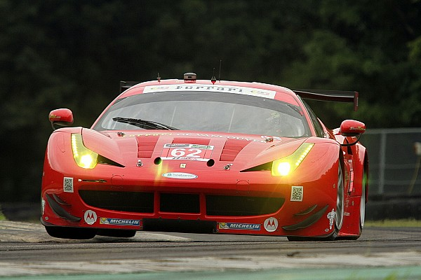 Ferrari recovers from incident to win VIR pole