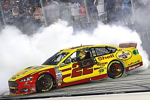 NASCAR Sprint Cup Race report Logano wins at Bristol in Penske 1-2 finish