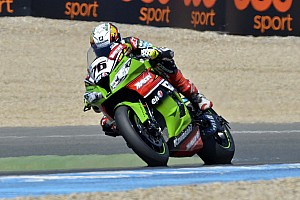 World Superbike Qualifying report Baz takes Tissot-Superpole and sets new best lap at Jerez