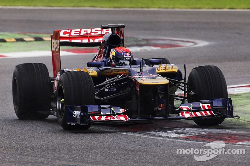 First Formula One Test For Max Verstappen