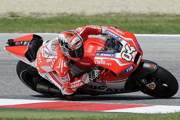 Ducati showing strength with strong runs by Dovizioso and Iannone