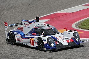 WEC Race report Wet and wild in Texas for Toyota Racing