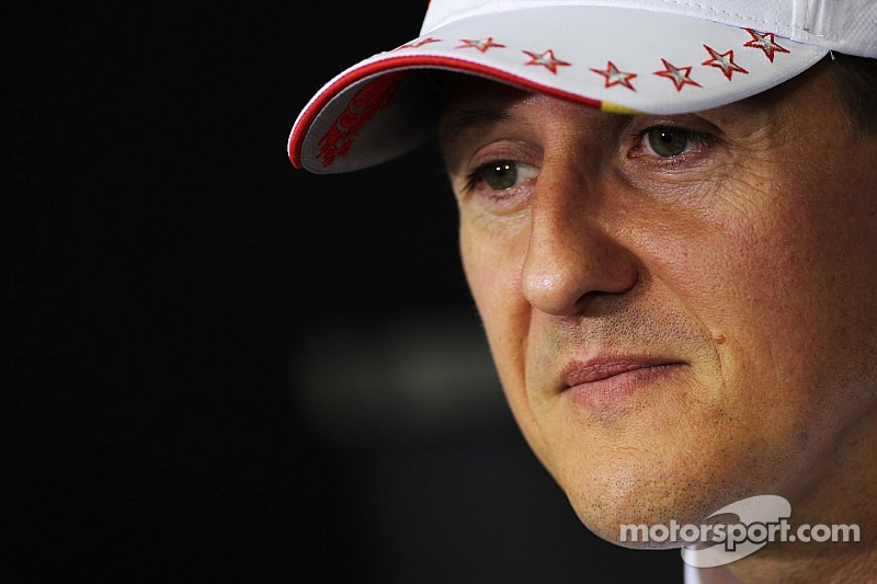 Schumacher 'waking up very slowly' at home - Moncet