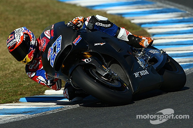 Stoner wraps up intense two day HRC test in Japan