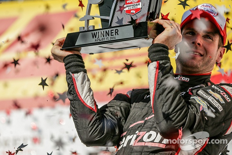 Will Power optimistic for 2015, team mate Pagenaud