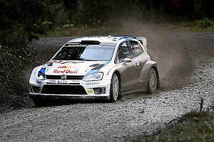 Mikkelsen takes top time in Rally GB shakedown