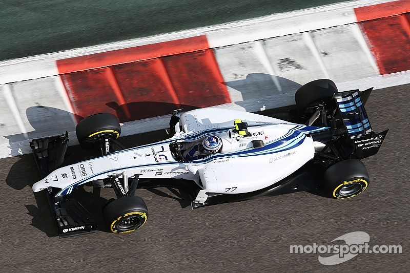 Bottas finished third and Massa fourth in qualifying for tomorrow's Abu Dhabi GP