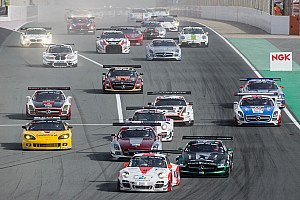 Endurance Race report Fierce battle for the lead in first hour Hankook 24H Dubai