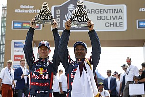 MINI celebrates its fourth consecutive overall win at the Dakar Rally