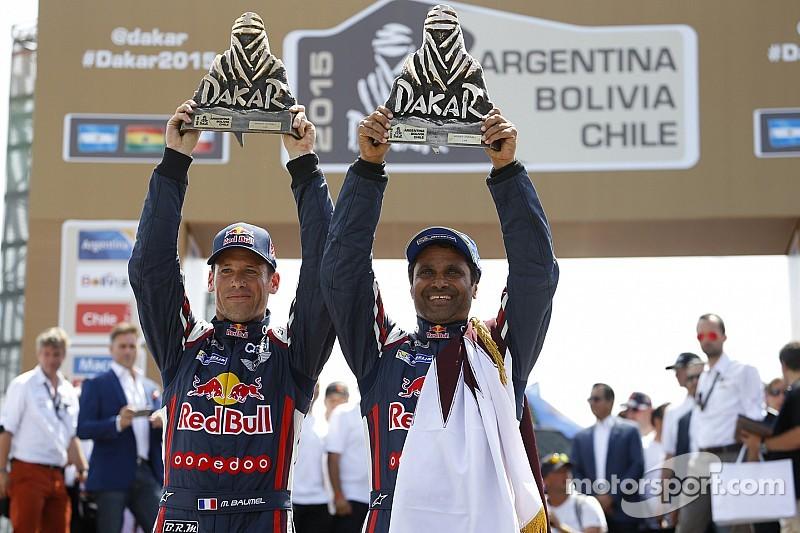 MINI celebrates its fourth consecutive overall win at the Dakar Rally