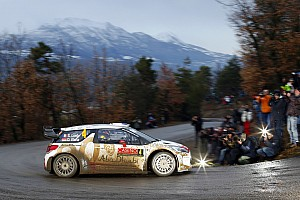 Loeb wastes no time at Monte Carlo