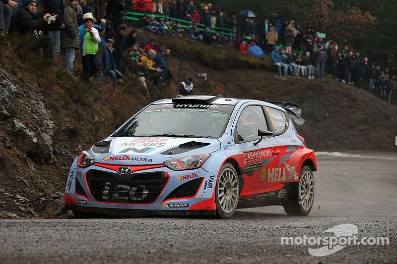 Hyundai Motorsport continues Monte Carlo learning curve with two cars in top eight