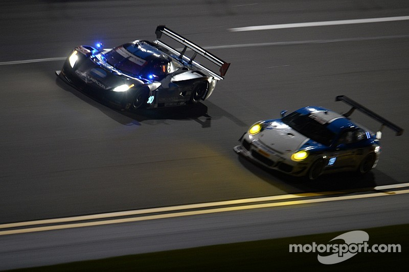 Rolex 24 hits 15th hour and it's Taylor still in control