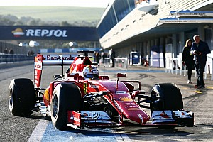 Jerez Day 1 testing results: Vettel and Ferrari on top