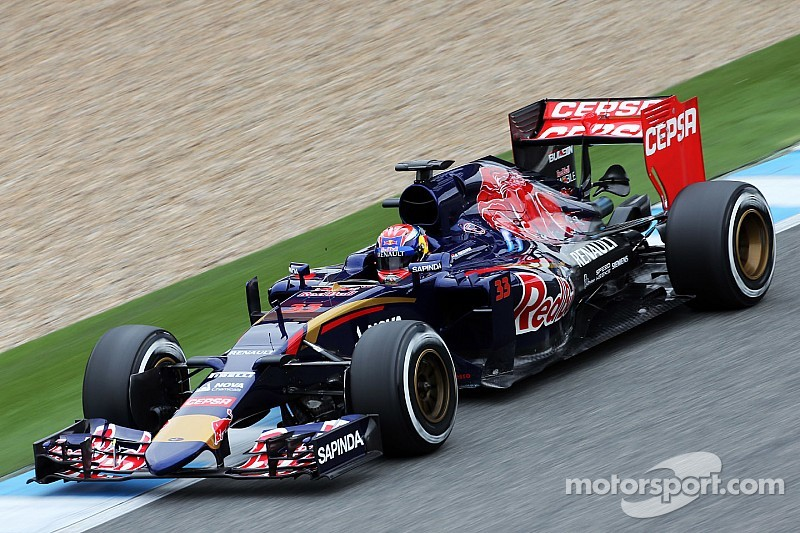 Toro Rosso's Verstappen makes his debut at Jerez