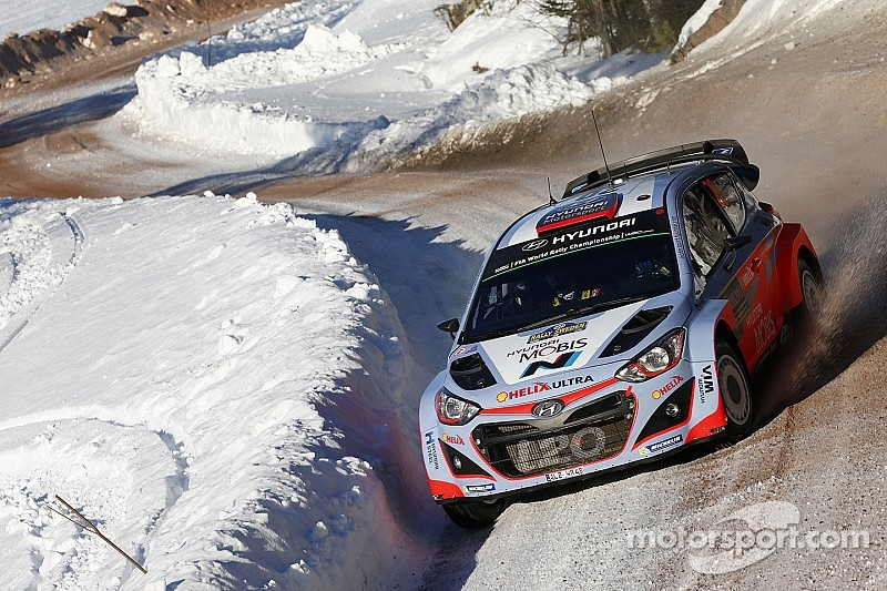 Hyundai Motorsport takes spectacular podium as Neuville claims 2nd in Sweden