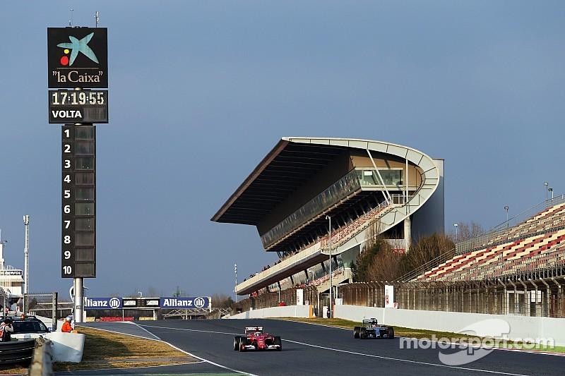 Así irán los equipos al último test de Fórmula Uno