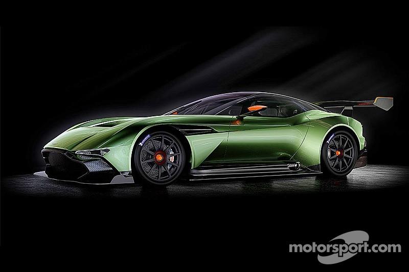 Aston Martin Vulcan prepares for track debut