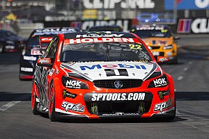 V8 Supercars Qualifying report James Courtney secures pole for Race 3 at Adelaide