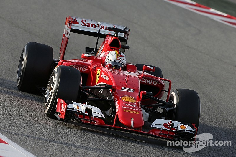 Ferrari,  en la ruta para alcanzar a Mercedes: Vettel