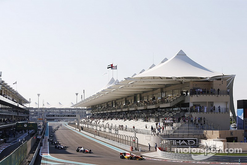 The 2015 pre-season GP2 tests start at Yas Marina