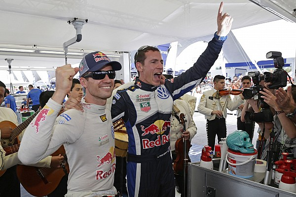 Ogier makes it three in a row on Rally Mexico