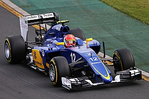 Formula 1 Qualifying report Sauber confirm positive impressions from winter tests on qualifying for the Australian GP