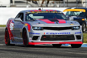 Front-Row sweep for Stevenson Motorsports Camaros